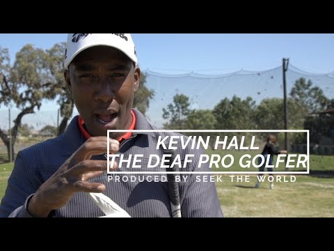 Image of Kevin Hall – The Deaf Professional Golfer