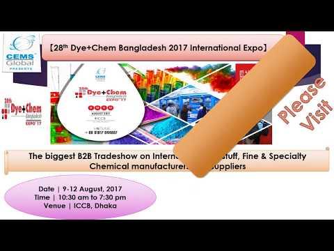 Textech Bangladesh, Yarn & Fabric and Dye+Chem 2017