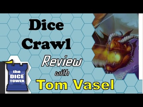 Tom - Tom Vasel takes a look at this dice rolling dungeon crawl game Buy great games at http://www.coolstuffinc.com Find more reviews and videos at http://www.dicetower.com.
