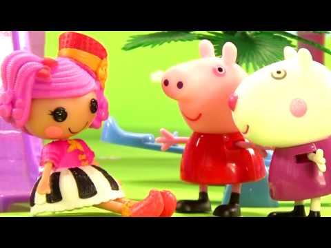 Свинка пеппа на детской площадке серия