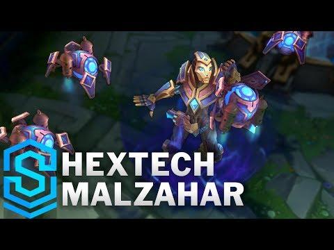 Malzahar Hextech - Hextech Malzahar Skin