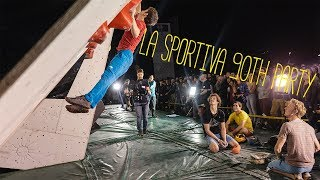 The Best Climbers In The World - La Sportiva 90th Party by Matt Groom