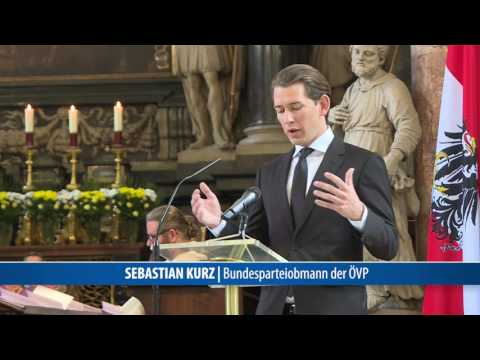 Abschied von Alois Mock im Wiener Stephansdom
