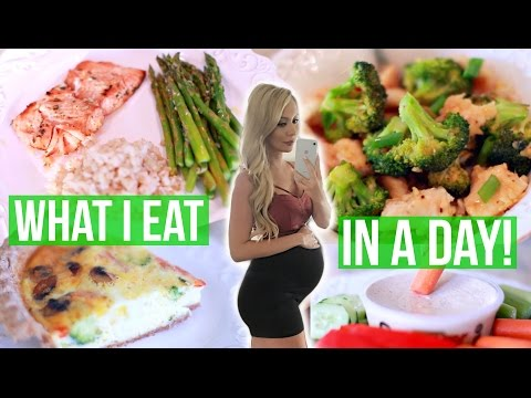 What I Eat in a Day: Pregnancy Edition!
