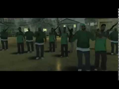 Gang Wars - Grove Street Vs. Ballas