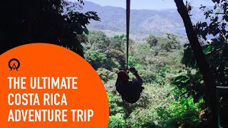 In this video, we've packed as much of Costa Rica as we can into 106 seconds. Watch as we hike through a rainforest canopy on suspension bridges. Rappel ...