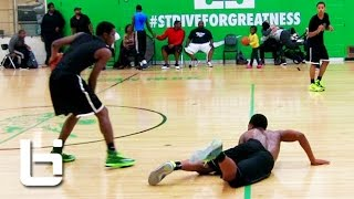 Marcus LoVett Brings His Game To Chicago! Morgan Park Open Gym Mixtape