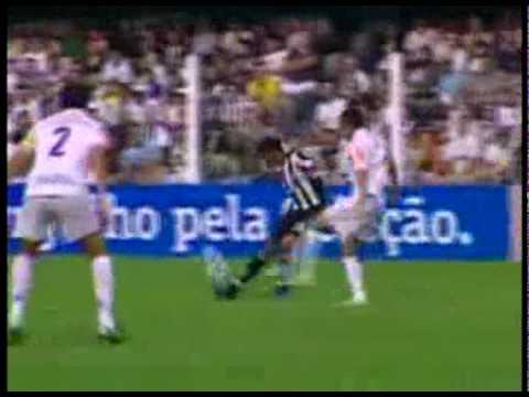 Brasileirão 2010 - Santos 1 X 1 Ceará - Gol: Washington