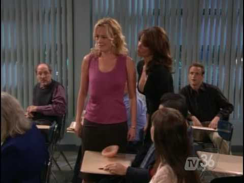 jami gertz - Jami Gerts shows off the best cleavage ever in this episode of Still Standing. Jennifer Irwin wasn't too shabby either.