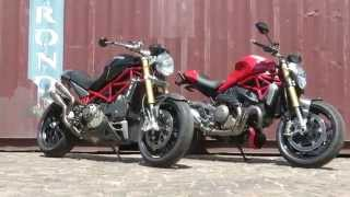 8. Ducati Monsters Old and New