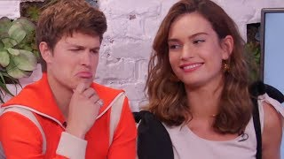 Video The Cast Of Baby Driver Put Their Car Knowledge To The Test MP3, 3GP, MP4, WEBM, AVI, FLV April 2018
