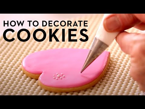 Beginner's Cookie Decorating 101