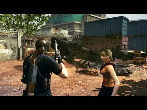 RESIDENT EVIL ASHLEY LEON IN AFRICA GAMEPLAY PS5 #3