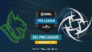Heroic vs NiP - ESL Pro League EU - bo1 - de_train [ceh9]