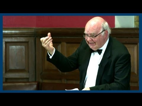 Lennox - Professor John Lennox gives his argument for the existence of God. Facebook @ http://fb.me/theoxfordunion Twitter @ http://www.twitter.com/OxfordUnion Oxford...