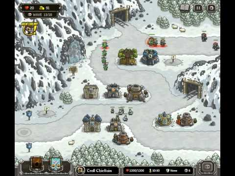 Kingdom Rush Walkthrough Level 8