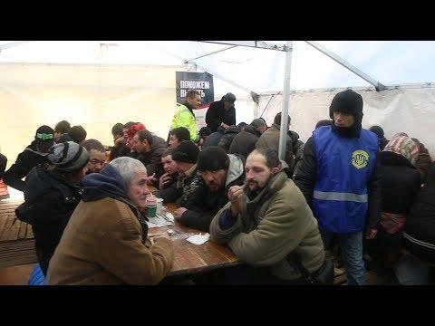 В Одессе общественная организация открыла пункт обогрева для бездомных