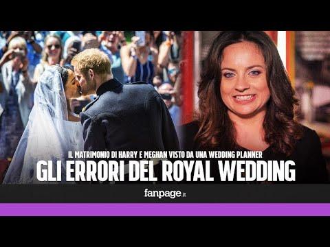 Matrimonio Harry e Meghan: barba, piercing e ritardi. Gli errori spiegati da una wedding planner