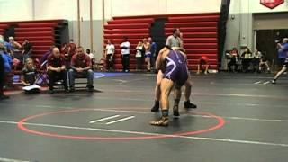 Austin Repp Pacfic vs Ben Richner W'burg 170 lbs Part I