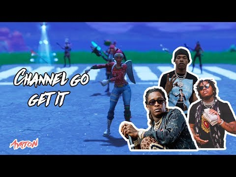 Fortnite montage - Young Thug Channel (Go get it ) - PS4