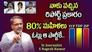 Video Sr Political Analyst Nagesh Kumar Reports On Women Percentage Of Voting    AP Elections 2019 MP3, 3GP, MP4, WEBM, AVI, FLV April 2019