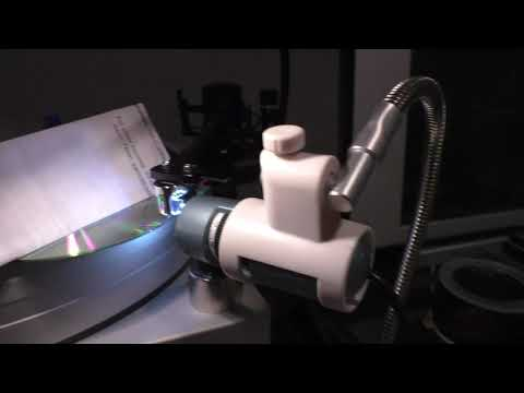 Using a Digital Microscope to Set Stylus Rake Angle