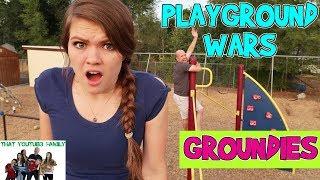 Video GROUNDIES - PLAYGROUND WARS / That YouTub3 Family MP3, 3GP, MP4, WEBM, AVI, FLV Maret 2018