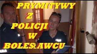 POLICJA nęka w Bolesławcu. Gdzie rękawiczki i maski, i odstęp?