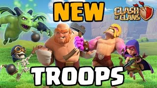 Video Clash of Clans NEW TROOPS GAMEPLAY! Builder Base Level 5 - CoC Update 2017 MP3, 3GP, MP4, WEBM, AVI, FLV Mei 2017
