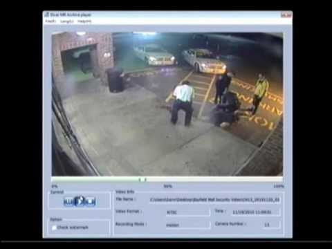 Dirty Cop Jason Nevill.  Barrie Ontario Canada Police Officer Beating a Citizen.