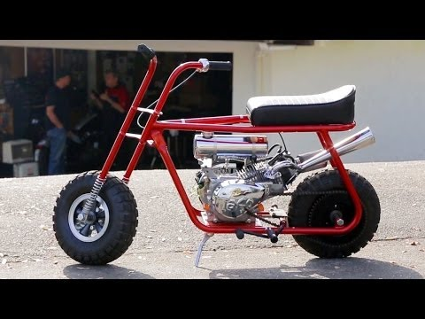 46 - On this episode of HOT ROD Unlimited, Joe Rivello of Taco Mini Bikes builds HOT ROD magazine a custom mini bike based off their traditional style bikes. We a...