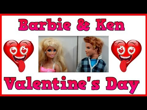 Barbie and Ken Valentine's Day Funny Video