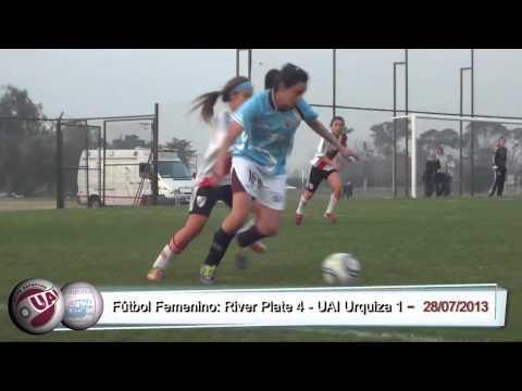 Fútbol Femenino: River Plate 4 vs. UAI Urquiza 1