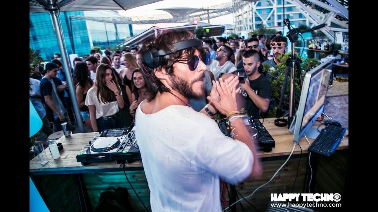 Lexlay - Live @ Happy Techno On the Rooftop, Catwalk, Barcelona, Spain 2016