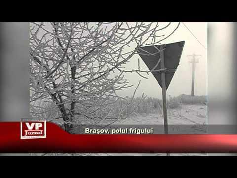 Brașov, polul frigului