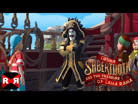 Captain Sabertooth And The Treasure Of Lama Rama [English Version] - IOS / Android - Gameplay Video