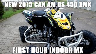 7. Kyff Indoor MX Rottleben 2015 Can-Am DS 450 XMX