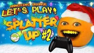 Annoying Orange Let's Play Splatter Up #2: Merry Splatmas!