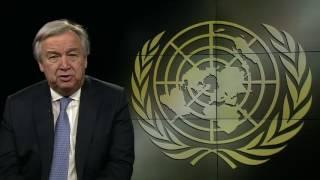 Poselství generálního tajemníka OSN