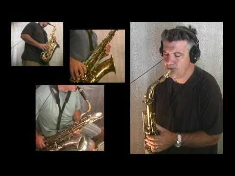 Amazing One-Man Sax Quartet
