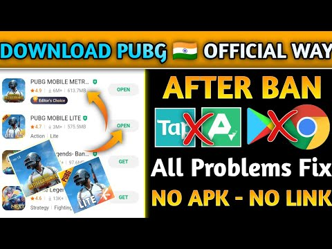 How To Download Pubg & Pubg Lite After Ban In India | Pubg Kaise Download Kare | Download Pubg🇮🇳