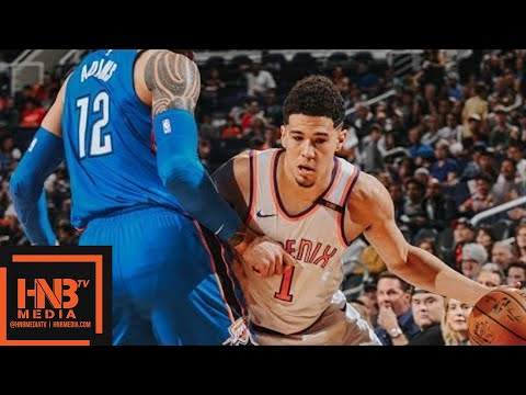 Oklahoma City Thunder vs Phoenix Suns Full Game Highlights / March 2 / 2017-18 NBA Season