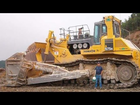 5 Extreme Dangerous Biggest Bulldozer Operator - World Amazing Modern Heavy Equipment Machines