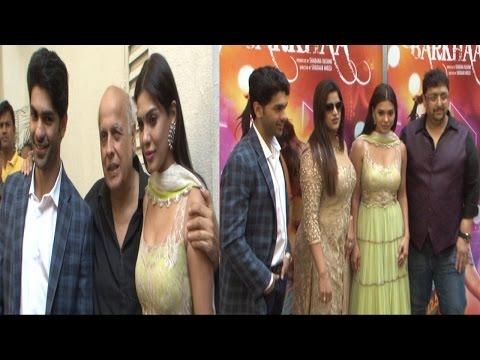 Mahesh Bhatt At Trailer Launch Of Film Barkhaa