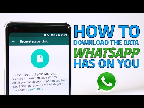 How to Download the Data WhatsApp Has on You