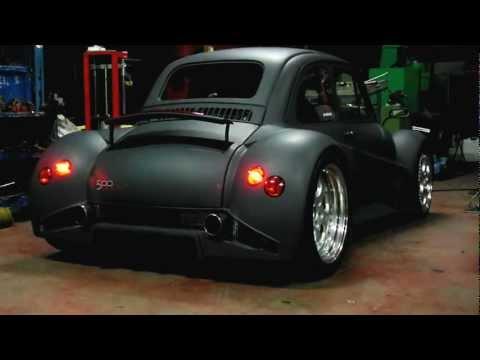 Fiat 500 Lamborghini V12 Sound