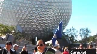 Cardinot no Epcot, na Disney