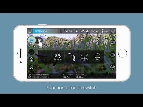 Tutorial Video of APP Potensic-GPS for Potensic Drone D58