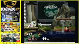 Yesterday! The Moon (Marth) vs Mew2King (Marth/Sheik)