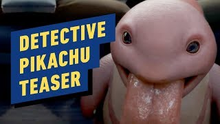 Pokémon Detective Pikachu Teaser - Lickitung Reveal! by IGN